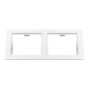 Рамка Lightstarа 214526 DOMINO Double QUADRO MR16 БЕЛЫЙ
